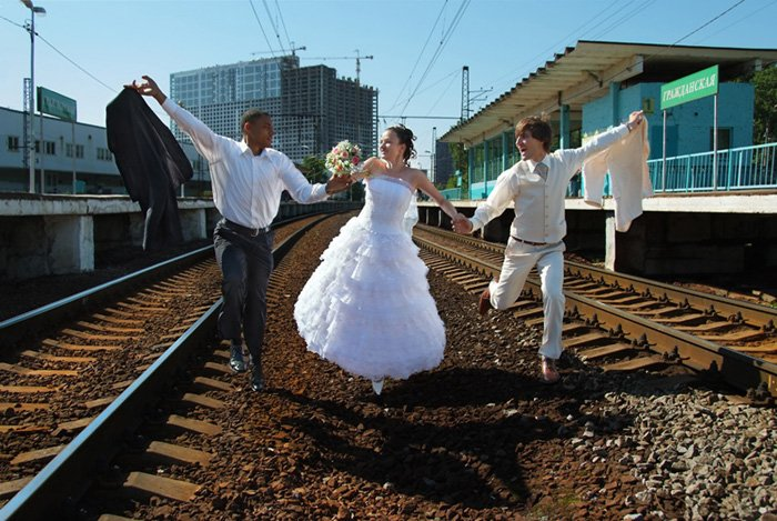 Необычные свадьбы весёлого